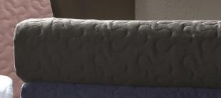 Porta Travesseiro Satinée 50x70cm Preto Ébano Kacyumara