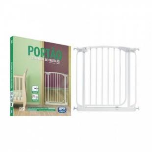 Portão com Grade de Proteção 74cm x 3,5cm x 79cm Mor