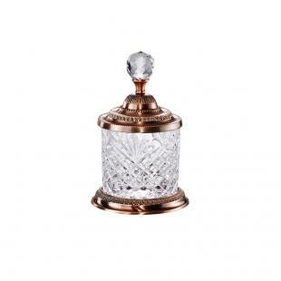 Pote Bronze Multiuso 16,5cm Cristal De Zamac Lyor