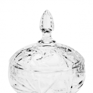 Potiche  c/Pés Cristal de Chumbo Prima 3719  Lyor