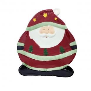 Prato Noel Natal Ceramica Toulouse Niazitex