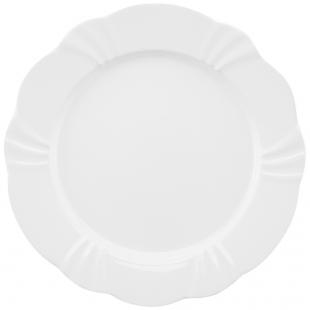 Prato Raso 29cm Soleil White Oxford