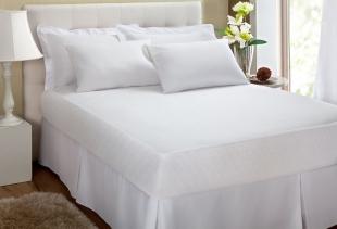 Protetor de Travesseiro 50x70 Malha Impermeavel Kacyumara