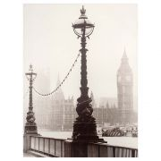 Quadro Decorativo 85x113cm Neve Londres Goods