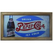 Quadro Pepsi Cola 25x45 Vintage Concept