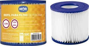 Refil para Filtro 2.200 Litros/Hora 127V e 220V Mor