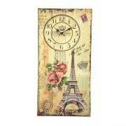 Relógio Parede 60x30 Avenill Paris Mabruk