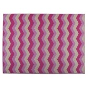Tapete 100x150 Jumper Chevron Pink Corttex