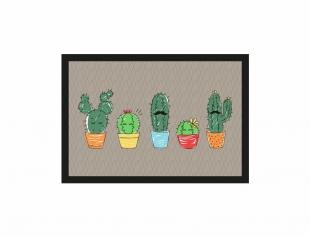Tapete Cozinha 45x65cm Cactus Kacyumara