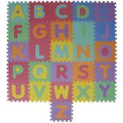 Tapete de Atividades em EVA Alfabeto 26 Peças Mor