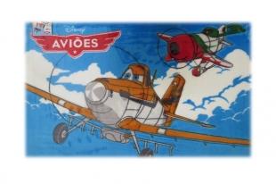 Tapete Infantil 0,80x1,20 Aviões Jolitex Ternille