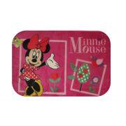 Tapete Infantil 0,80x1,20 Minnie Flores Jolitex Ternille