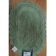 Tapete Oval Crochê 40 x 60 cm Skin Kacyumara