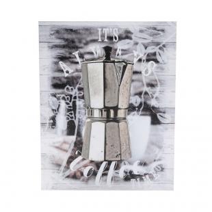 Tela Italian Coffee Maker Prata Urban