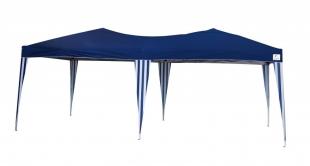 Tenda Gazebo 6x3 Dobrável Azul Overzise Poliéster Belfix