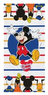 Toalha Aveludada Estampada Mickey 70x140cm Lepper