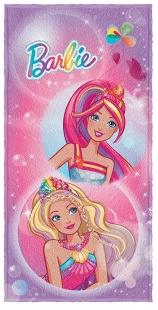 Toalha de Banho Estampada 60x120cm Barbie Lepper