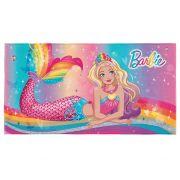 Toalha de Banho Transfer Barbie 75x140 Lepper