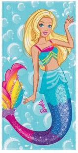 Toalha Estampada de Banho Barbie Reinos Mágicos Sortidas Lepper