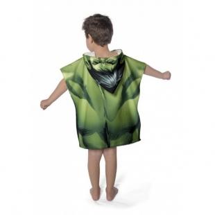 Toalha Infantil Estampada Com Capuz 50x110cm Hulk Lepper
