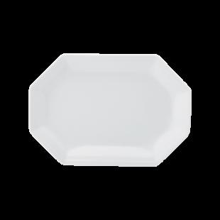 Travessa 28 Linha Prisma Branco Porcelana Schmidt