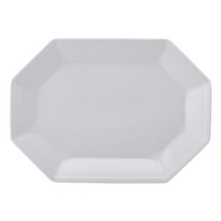 Travessa Rasa 36 Linha Prisma Branco Porcelana Schmidt