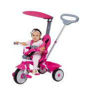 Triciclo Comfort Ride 3x1 Rosa Xalingo