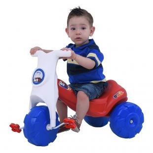 Triciclo New Turbo Vermelho Xalingo