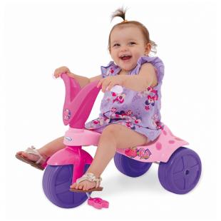 Triciclo Pink Pantera Xalingo