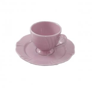 Xícara de Café 75ml Com Pires 13,5cm Soleil Sweet Oxford