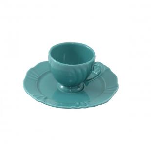 Xícara de Café 75ml Com Pires 13,5cm Soleil Dreams Oxford