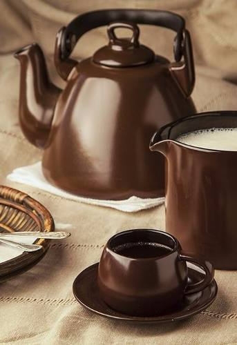 Chaleira Colonial 1700ml Chocolate Ceraflame