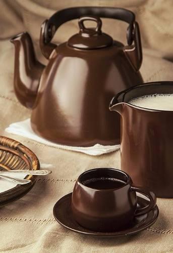 Leiteira Colonial 800ml Chocolate Ceraflame