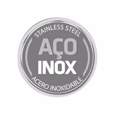 Panela Inox Rasa Solar 20cm 2,89 litros Fundo Triplo Tramontina