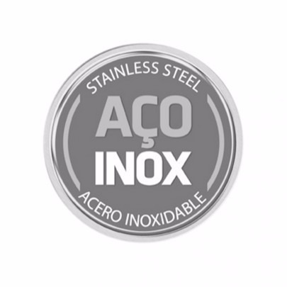 Conjunto De Panelas 4pc Inox Tramontina Allegra Fundo Triplo