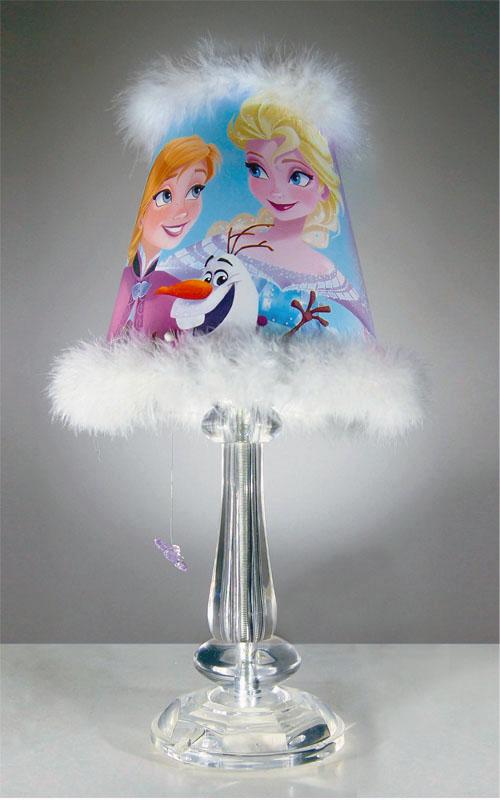 Abajur Infantil Frozen Acrílico e Plumas Bivolt Startec