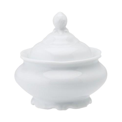 Açucareiro 35 Linha Pomerode Branco Porcelana Schmidt