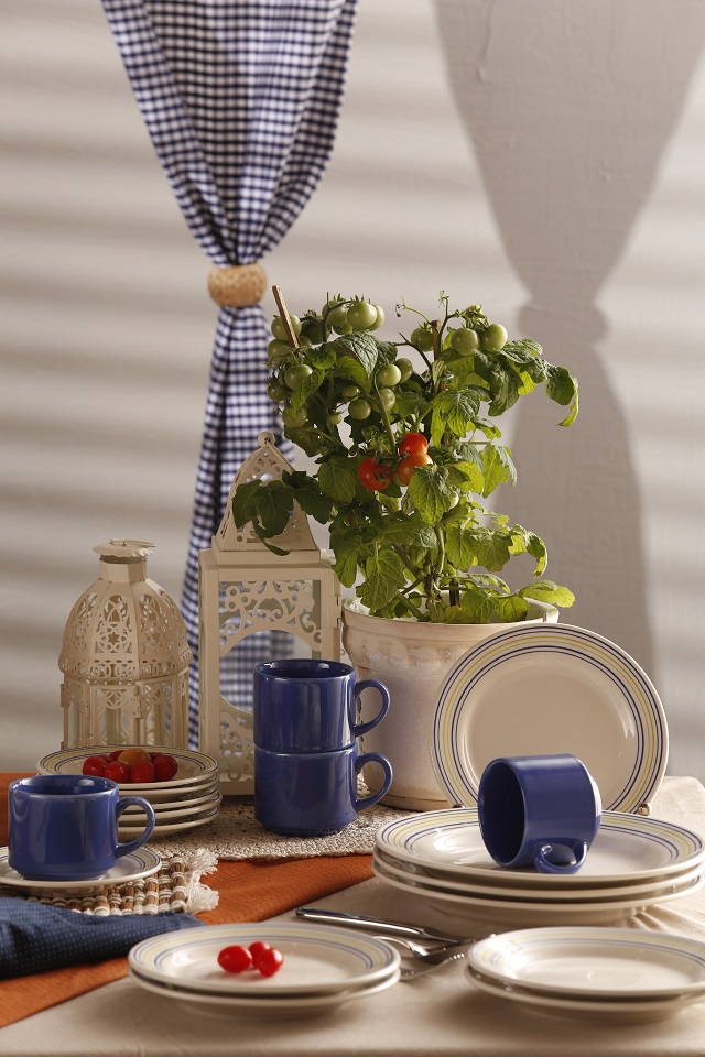 Aparelho Jantar Chá Biona Donna Elis 30pc Oxford