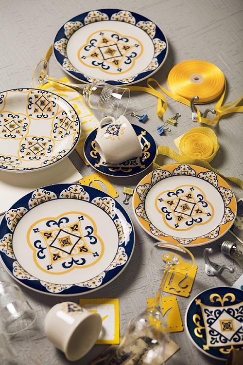 Aparelho Jantar Chá Floreal São Luis 30pc Oxford