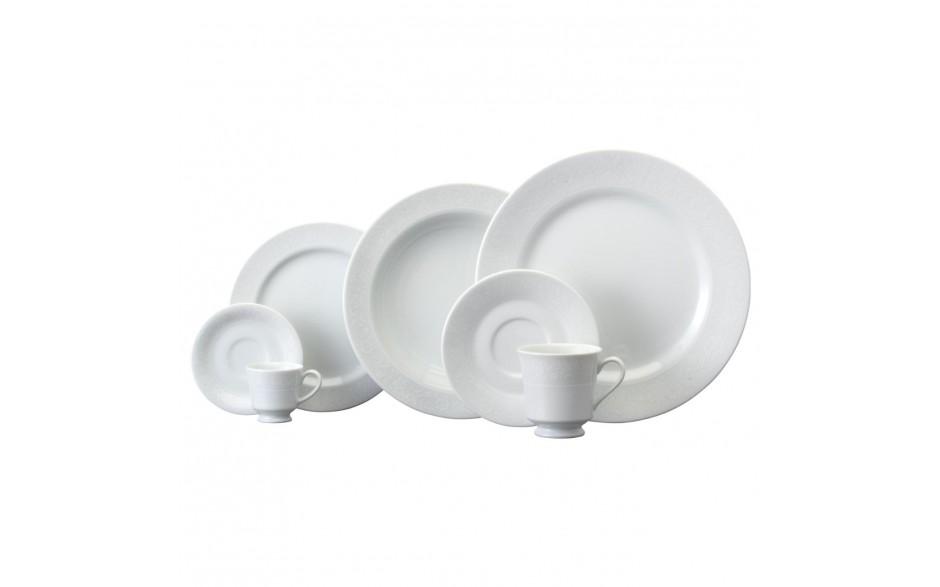 Aparelho Jantar Chá Itamaraty Noiva 30pc Porcelana Schmidt