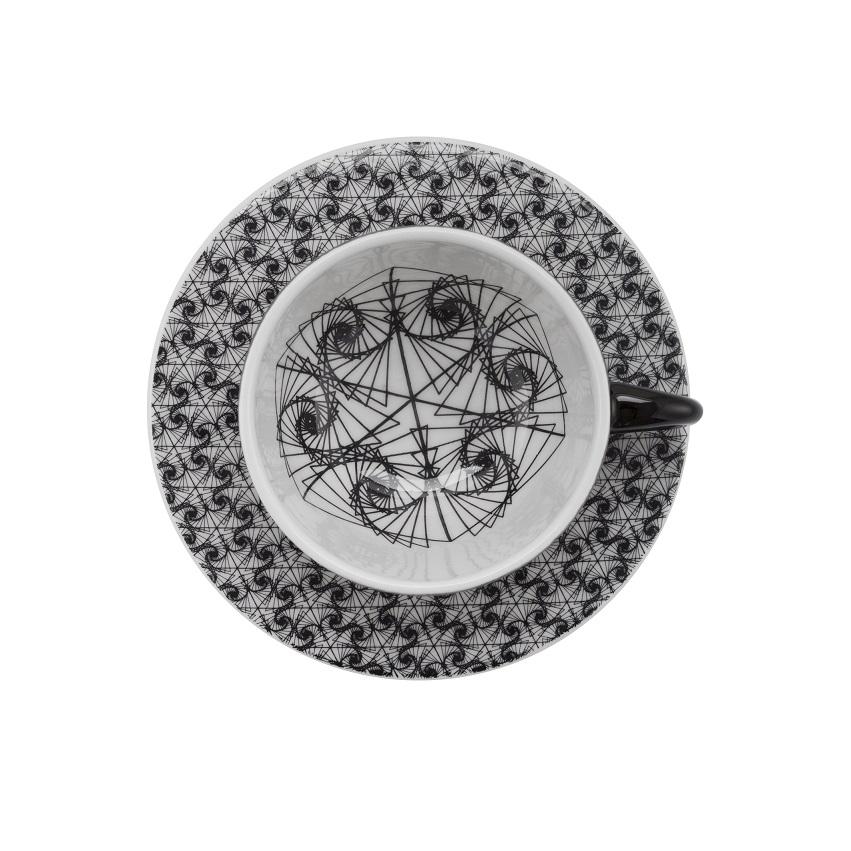 Aparelho Jantar Chá Moon Spirale 30pc Oxford