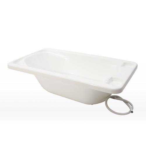 Banheira Plástica para Bebê Branco Galzerano