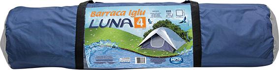 Barraca iglu Luna 4 pessoas Mor