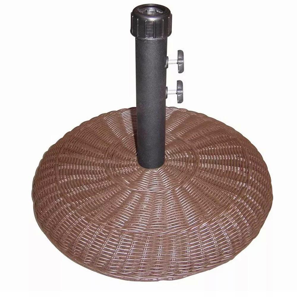 Base Concreto 16kg Para Ombrelone Revestido Rattan Sintético Bel Fix