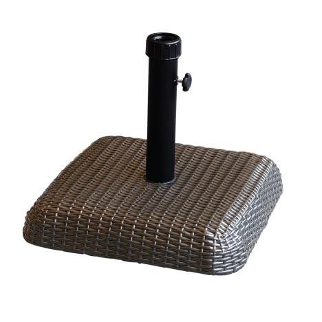 Base Concreto 30kg Para Ombrelone Revestido Rattan Sintético Bel Fix