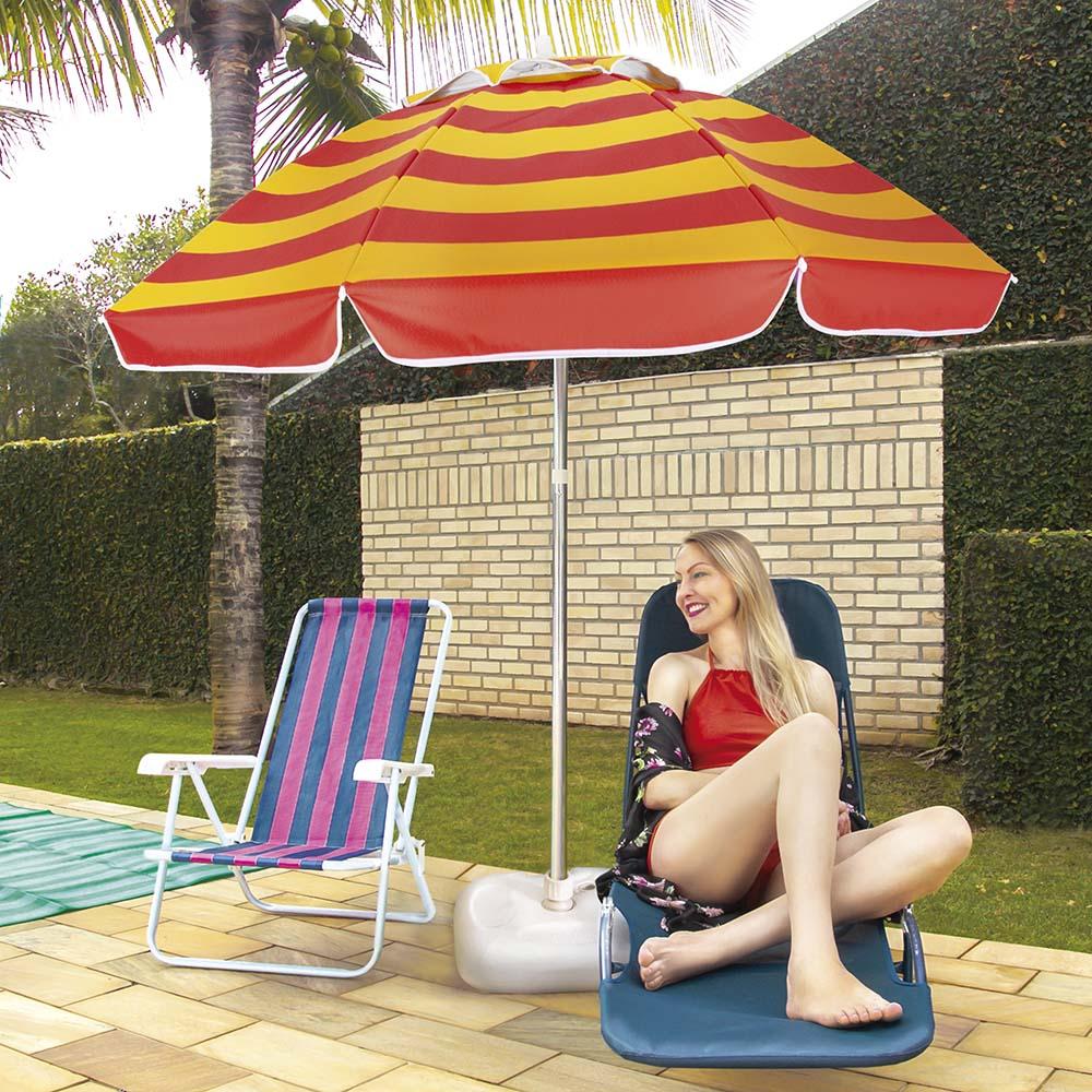 Base plástico para guarda sol Mor