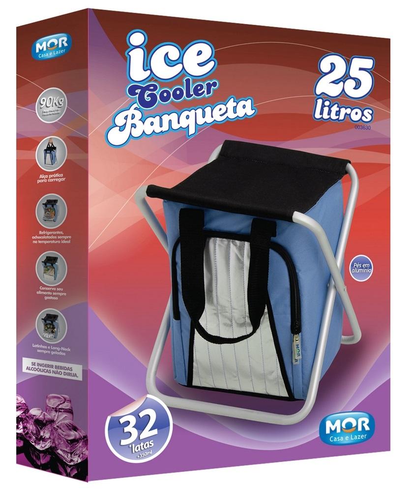 Bolsa Térmica Cooler Banqueta 25L Mor