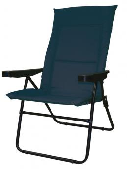 Cadeira  Alfa 4 posições azul Mor
