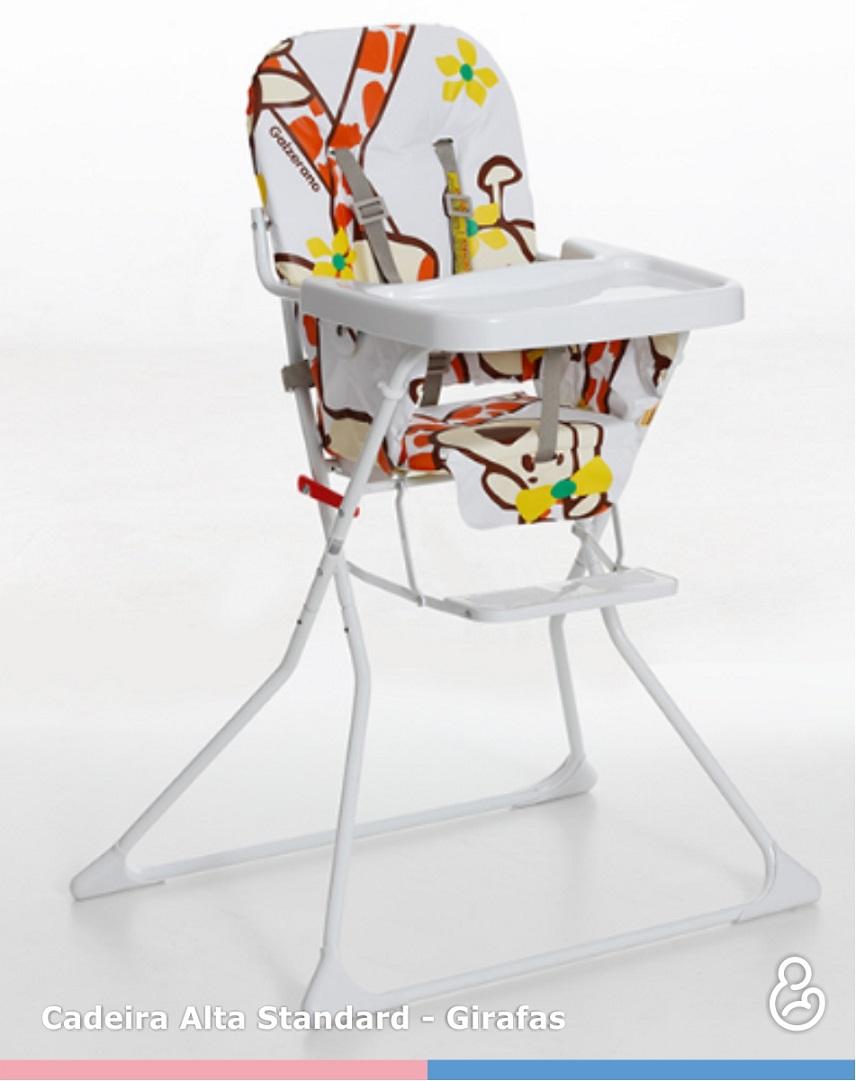 Cadeira de Papá Infantil Alta Standard Girafas Galzerano