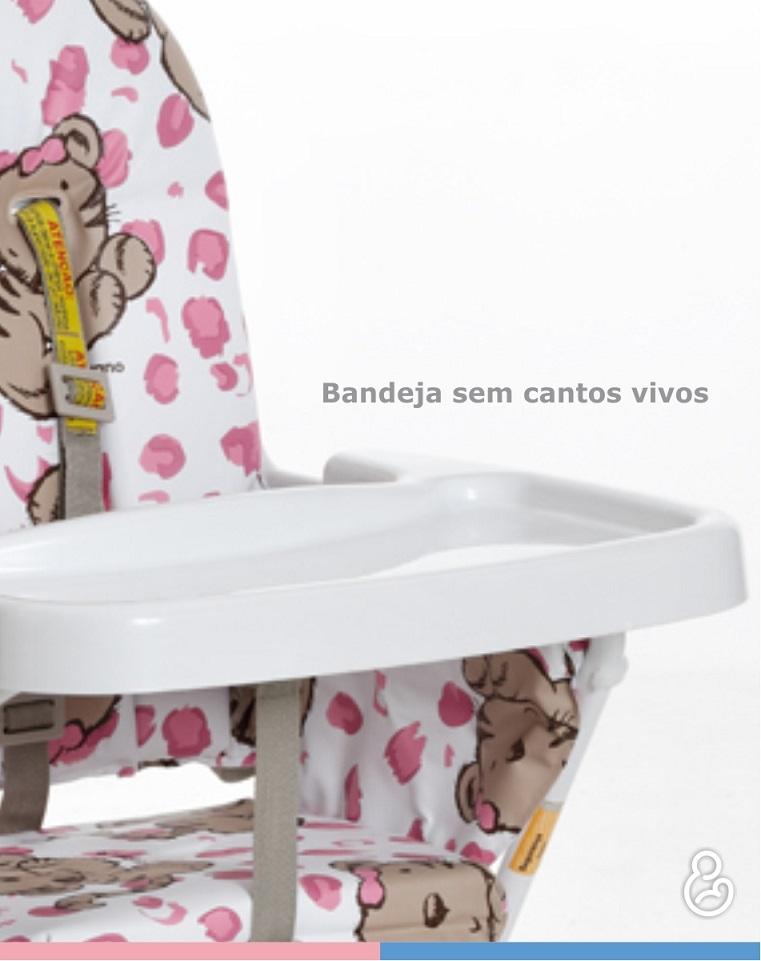 Cadeira de Papá Infantil Alta Standard Tigrinha Galzerano